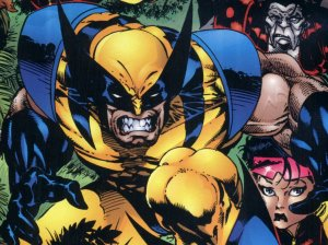 X Men Cartoon Wallpaper-786147