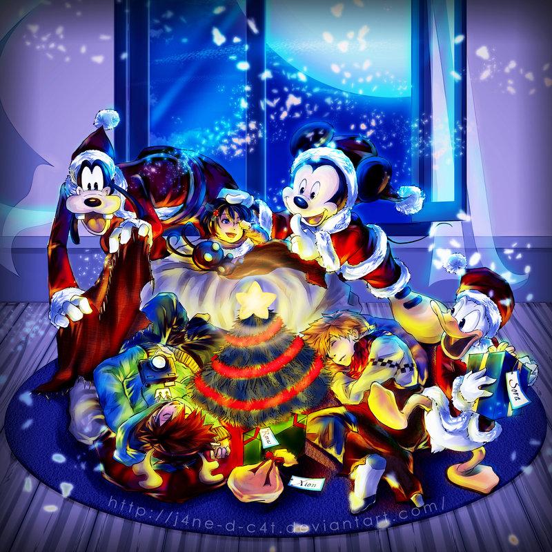 Kingdom Hearts Christmas.Kingdom Hearts Christmas Wishes Disney 52